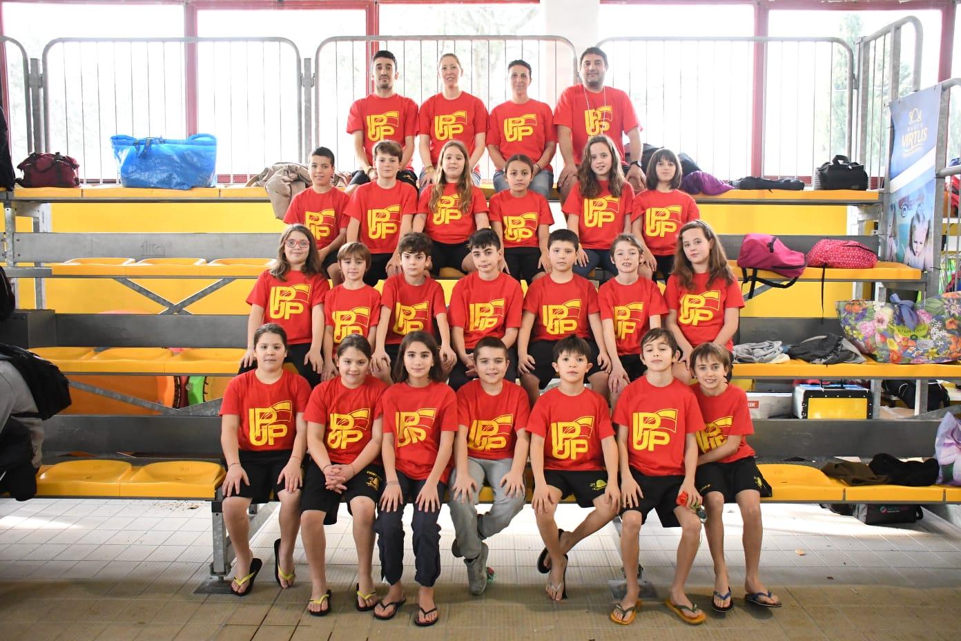 3° posto a squadre al Campionato Regionale Invernale Salvamento Esordienti A e B