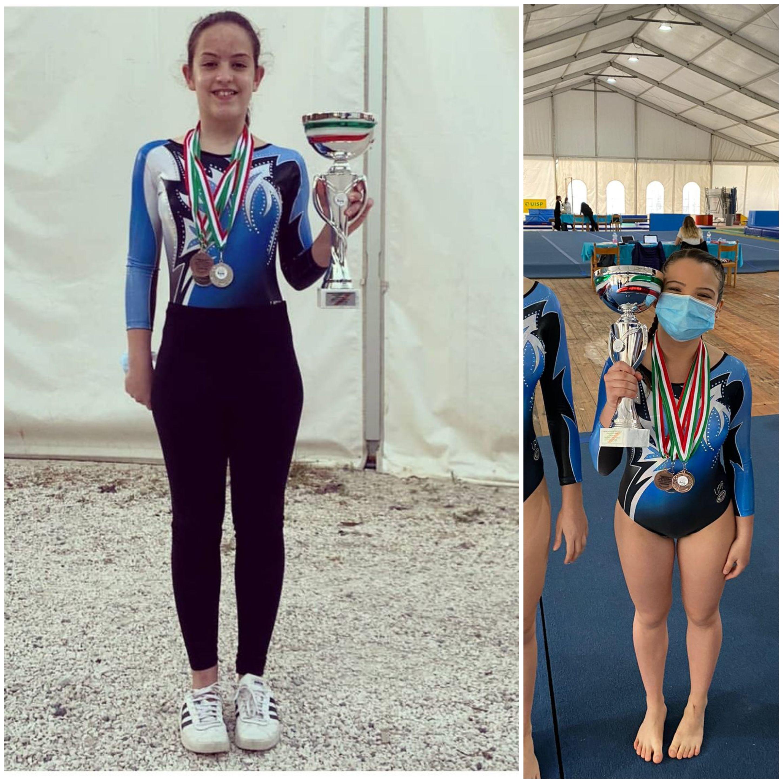 Maria Damiani e Rebecca Grazzini campionesse nazionali UISP!!!